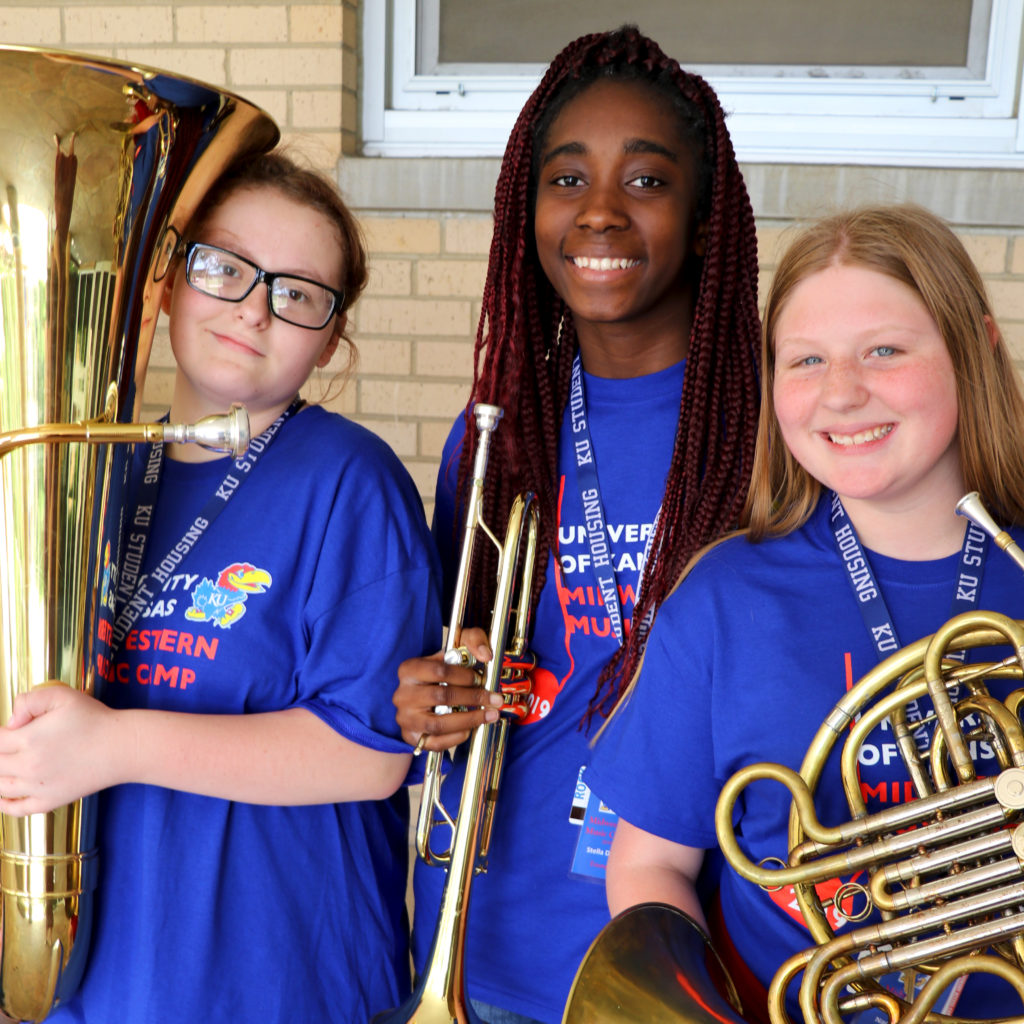 Students across the KC area are able to join school music programs thanks to the kindness of our instrument donors.